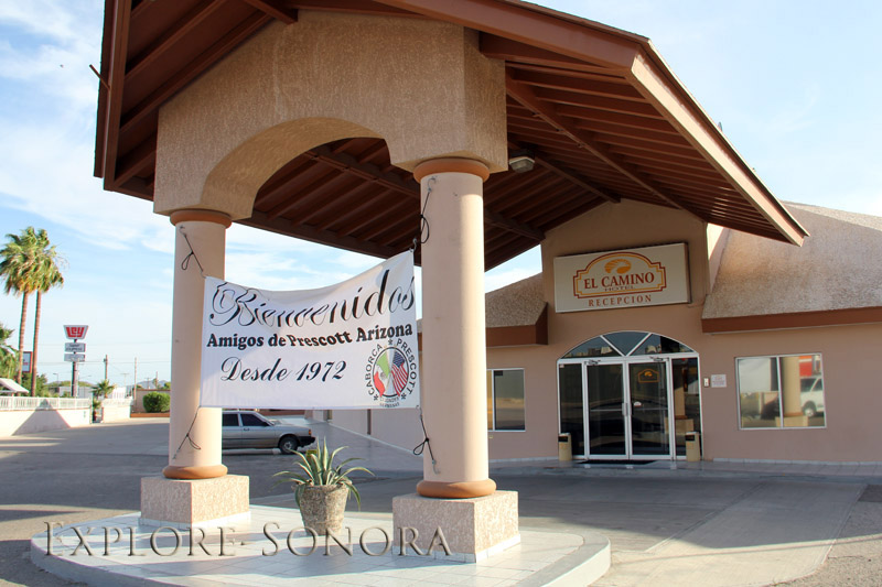Hotel El Camino en Caborca, Sonora