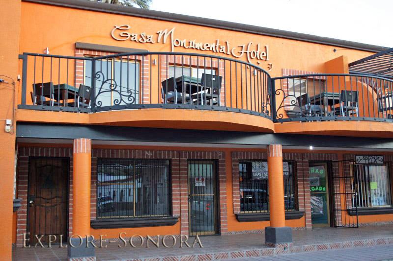 Casa Monumental Hotel en Magdalena de Kino, Sonora
