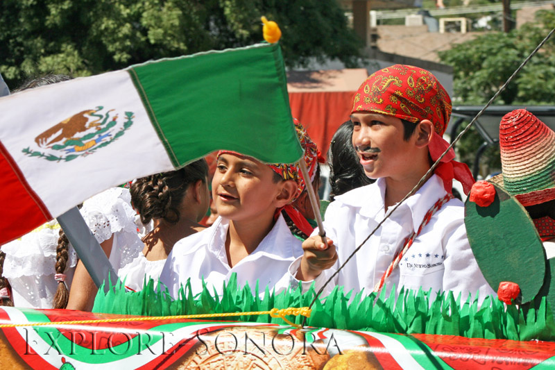 February 24 is Flag Day in Mexico