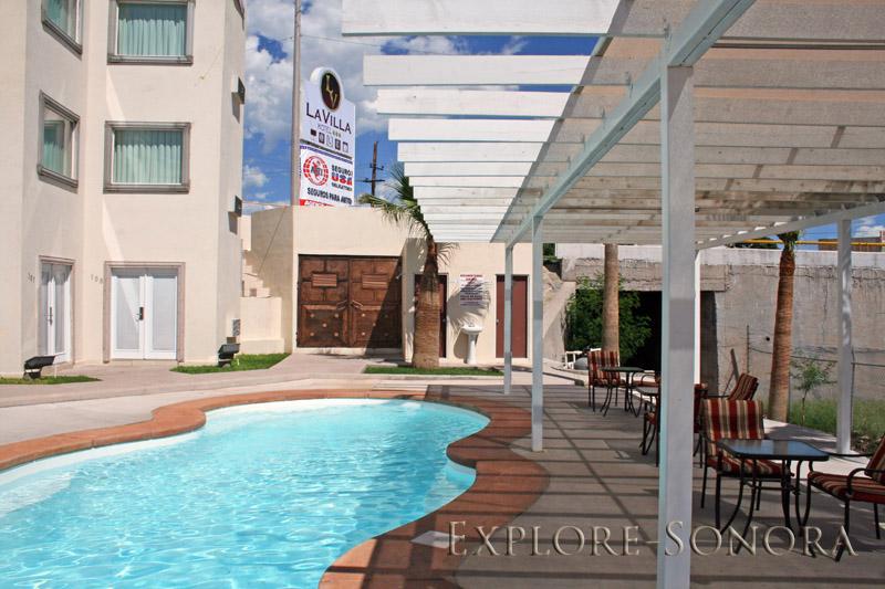 Hotel La Villa en Santa Ana, Sonora