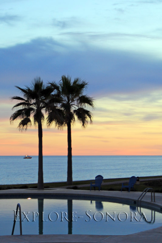 A tranquil evening in Puerto Penasco