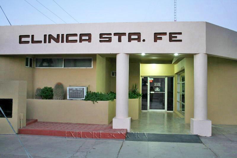 Clinica Santa Fe in Caborca, Sonora