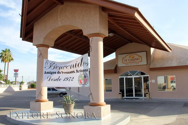 the hotel el camino in caborca sonora