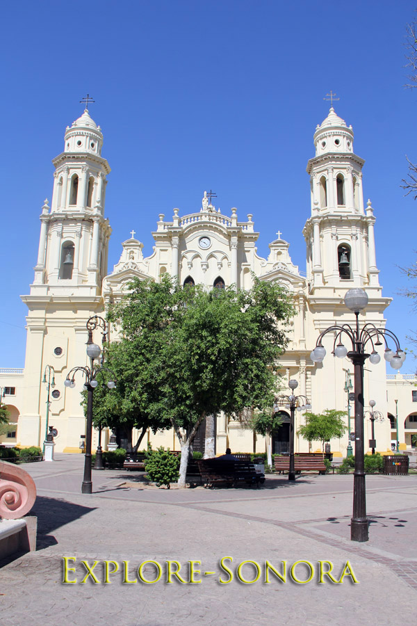 The Cathedral in Hermosillo, Sonora, Mexico