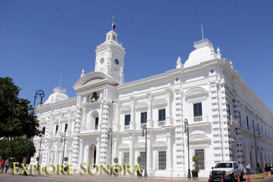Palacio del Gobierno in Hermosillo, Sonora, Mexico