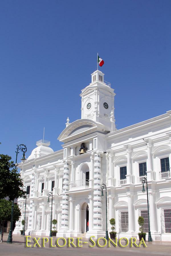 The Palacio de Gobierno in Hermosillo, Sonora, Mexico