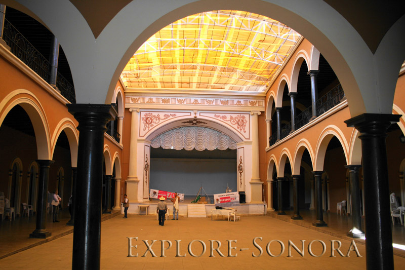 Palacio municipal in Alamos, Sonora