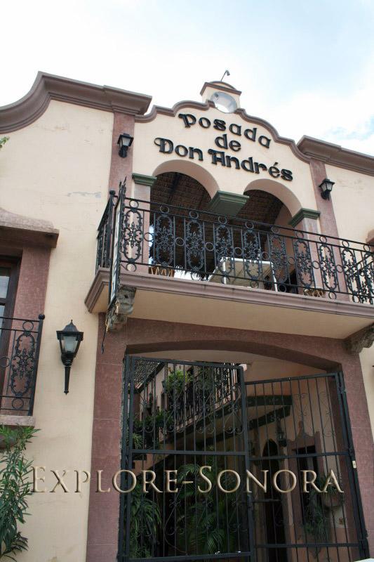 Posada de Don Andres in Alamos, Sonora