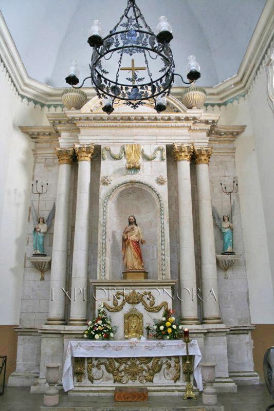 The Parroquia de La Purísima Concepción in Alamos, Sonora