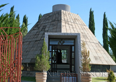 Mausoleum of Luis Donaldo and Diana Laura Colosio in Magdalena de Kino, Sonora