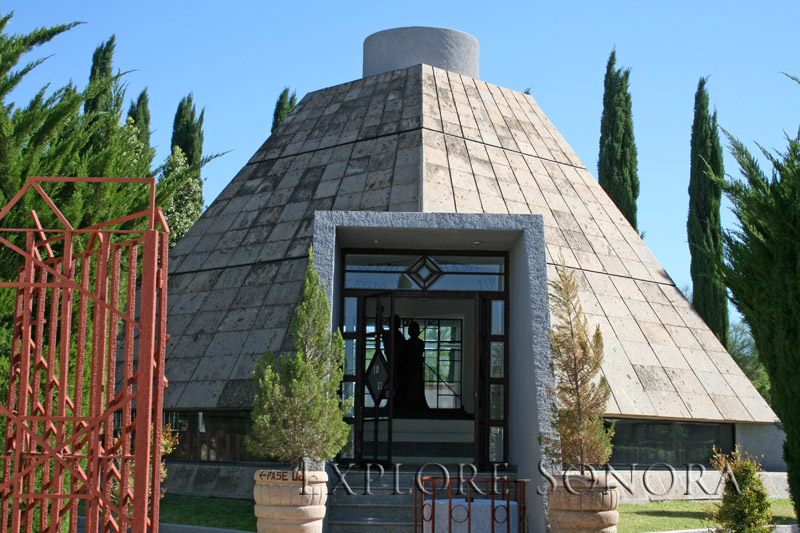 The Colosio Mausoleum in Magdalena de Kino, Sonora