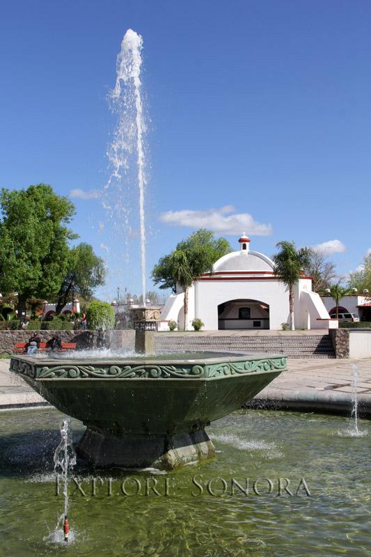 Plaza Monumental in Magdalena de Kino, Sonora