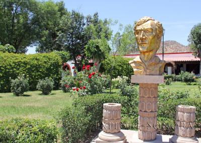 plaza monumental in magdalena de kino sonora