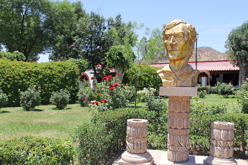 Plaza Monumental site to honor Father Kino in Magdalena de Kino, Sonora