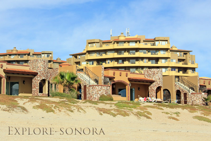 Rocky Point beachside casitas and resort