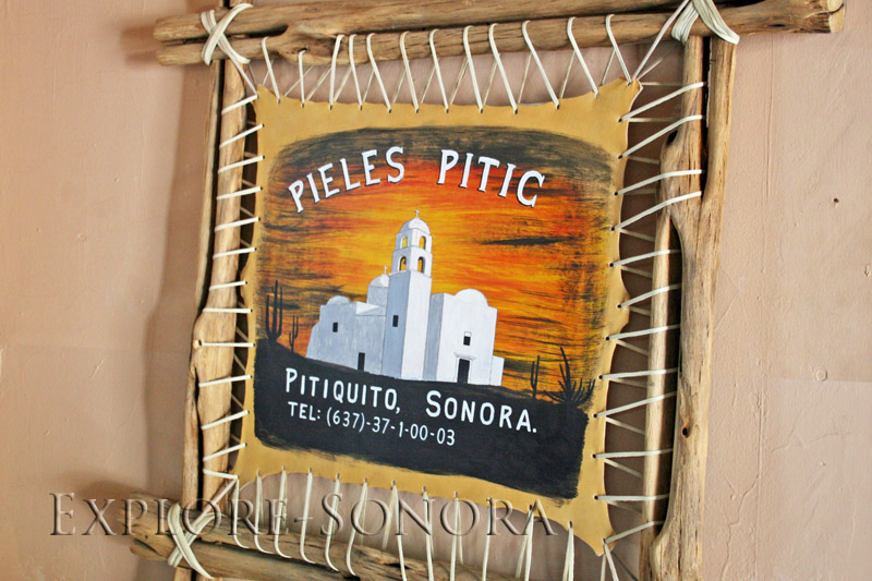Pieles Pitic, a favorite tourist destination in Pitiquito, Sonora