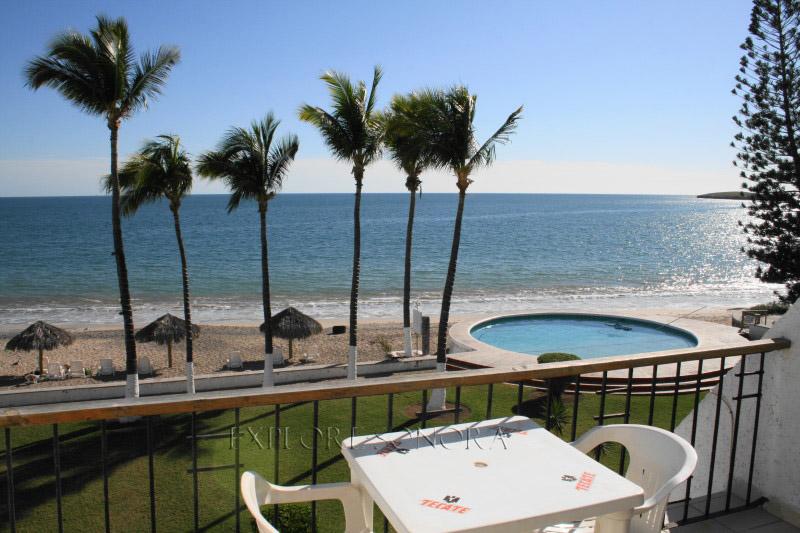 san carlos sonora hotel beach view