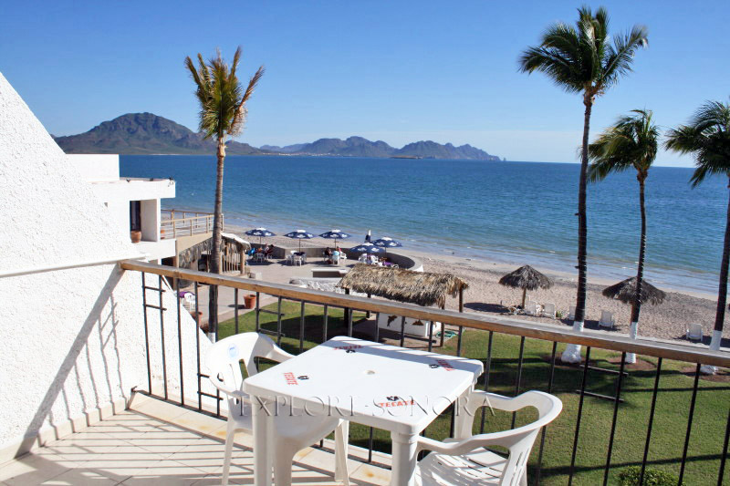 View from a beachside hotel in San Carlos, Sonora