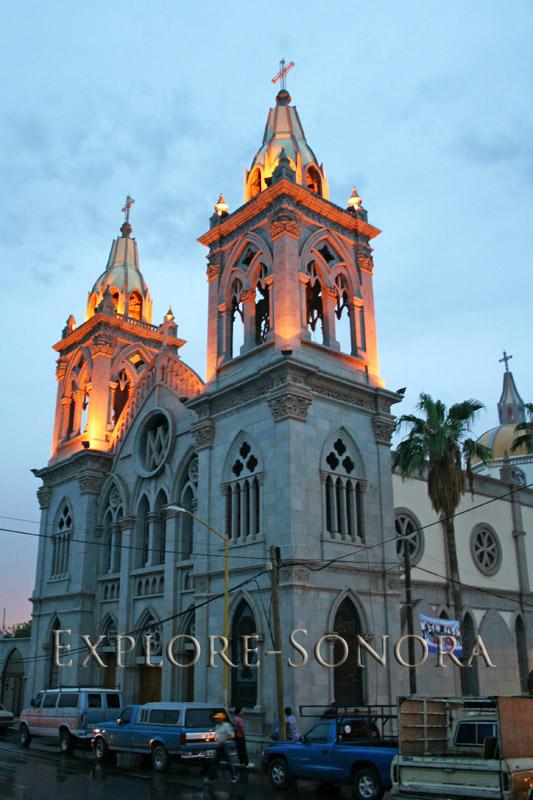 Parroquia de Santa Maria de Guadalupe in Santa Ana, Sonora