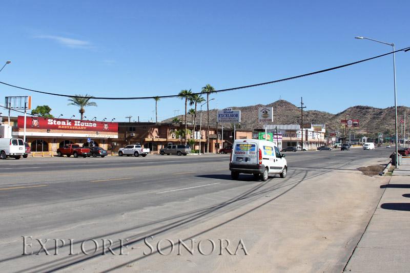 The border town of Sonoyta, Sonora