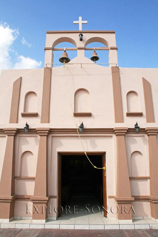 The Templo de San Rafael in Trincheras, Sonora