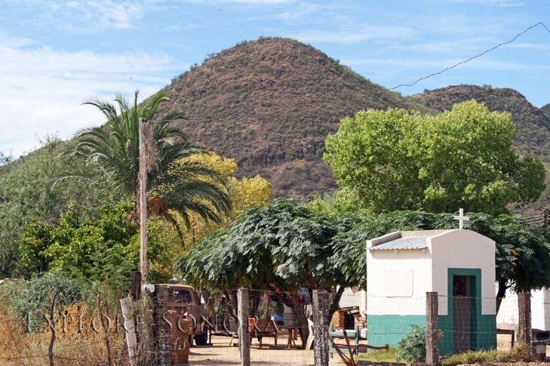 The northern Sonora pueblo of Trincheras, Sonora