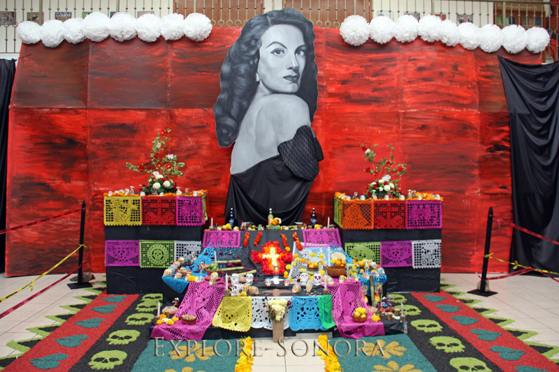 day of the dead maria felix altar
