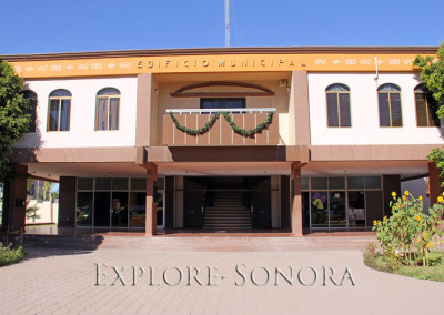 municipal building in Caborca, Sonora, Mexico
