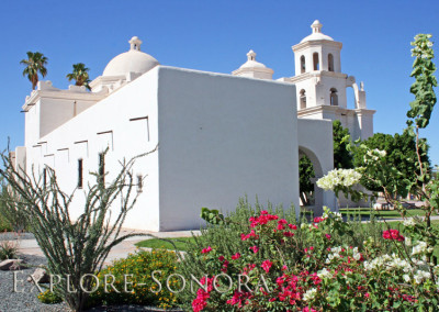 caborca's historic temple and gardens