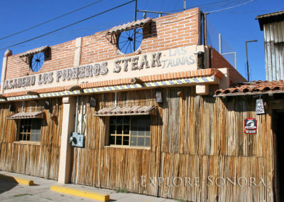 los pioneros asadero - steak house - in caborca, sonora, mexico