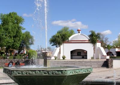 plaza monumental in magdalena sonora