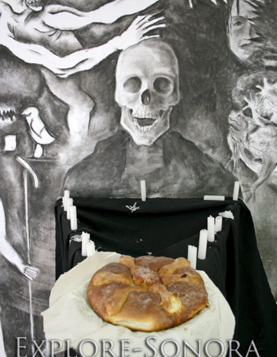 Dia de Muertos - pan de muerto