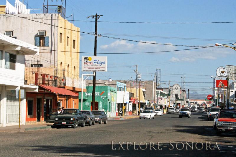 Ciudad Obregon street scene