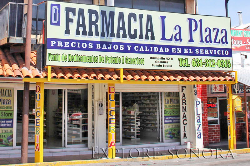 Farmacia La Plaza in Nogales Mexico