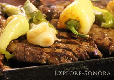 a sonoran specialty - carne asada