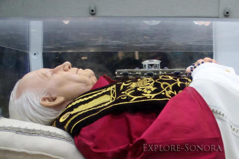 Sonora tour of Pope JPIIs relics