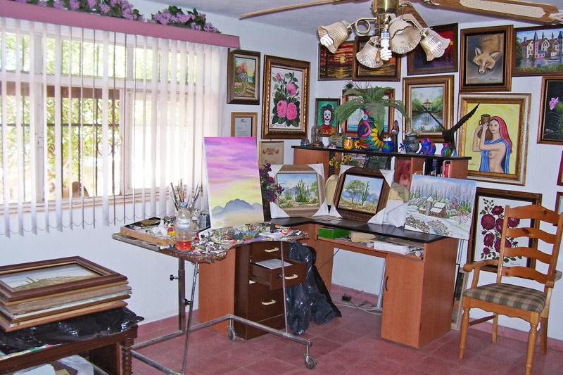 Art studio of Alina Trevor