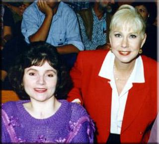 Alina Trevor with television personality Cristina Saralegui
