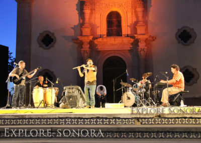 performance at a kino festival in magdalena