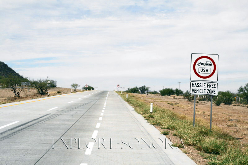 Hassle-free Sonoran highway