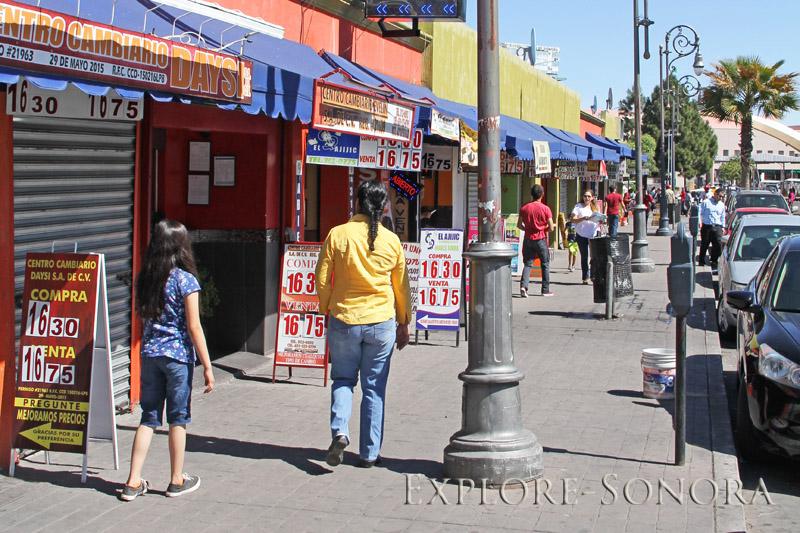 Casas de cambio in Nogales
