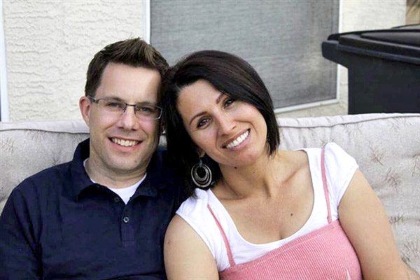 Yanira Maldonado with her husband Gary (photo provided by the family)