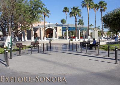 Plaza Cinco de Mayo in Navojoa, Sonora, Mexico