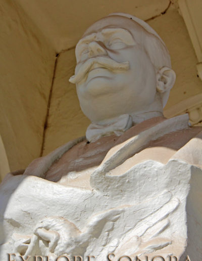 Monument to Alvaro Obregon in Navojoa, Sonora, Mexico