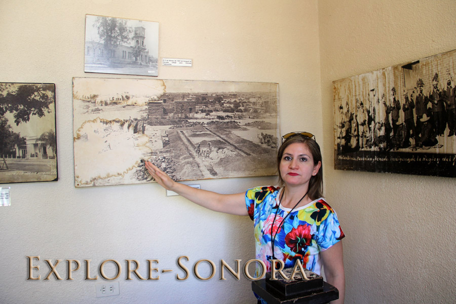 Tour Guide at the Regional Museum of the Mayo in Navojoa, Sonora