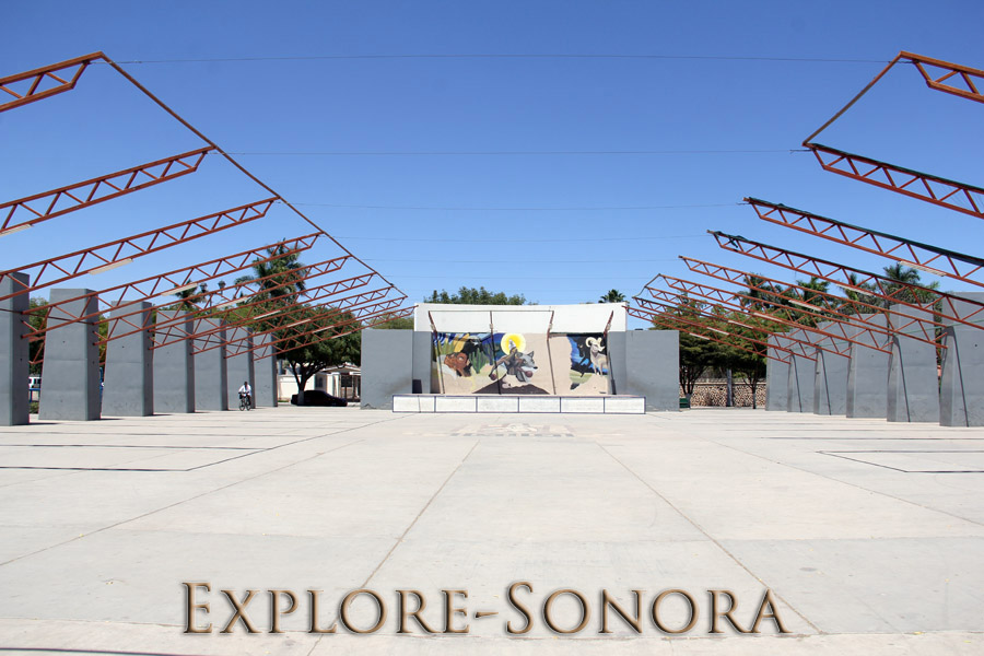 Plaza Santa Fe en Navojoa, Sonora
