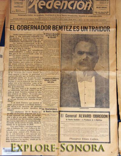 Museo Casa General Alvaro Obregon - Huatabampo Sonora Mexico