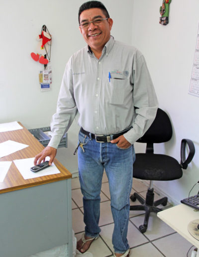 Sr. Severiano Valenzuela Buitimea - Radio Indigena XEETCH 700 am - Etchojoa, Sonora, Mexico