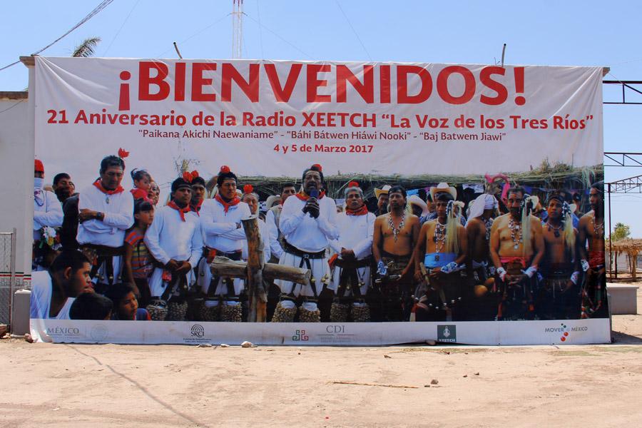 Radio Indigena XEETCH 700 am - Etchojoa, Sonora, Mexico