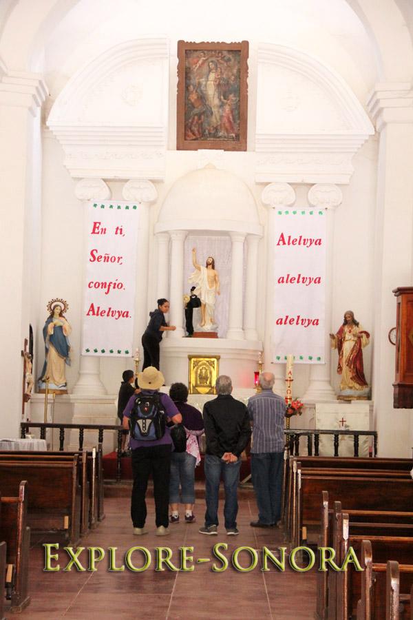 Ambos Tours - Visiting San Ignacio de Caborica in San Ignacio, Sonora